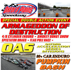SEASON SCHEDULE - Oxford Plains Speedway